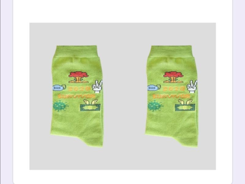 Image for product: socks 2020 survivor