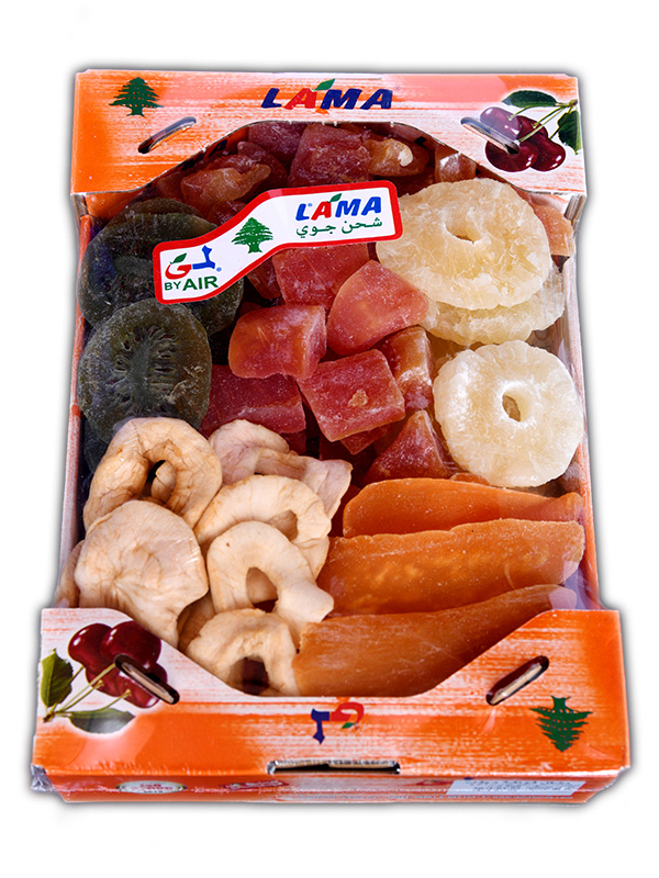 Image for product: lama dried fruit mix carton