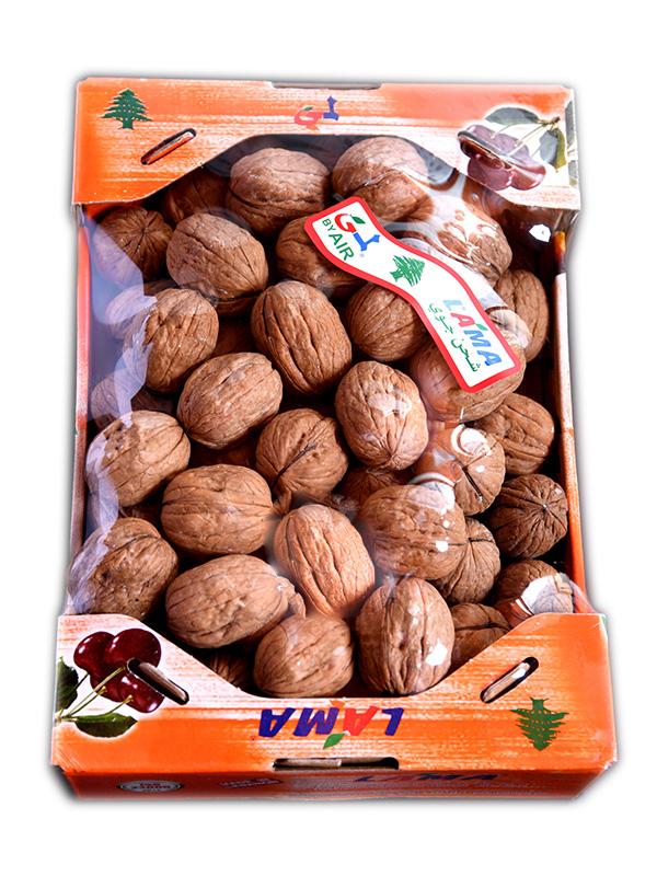 Image for product: lebanese whole walnut carton