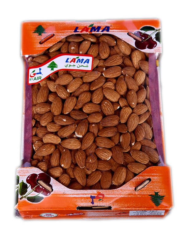 Image for product: lebanese sheeled almond carton