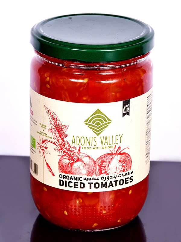 Image for product: adonis organic diced tomato