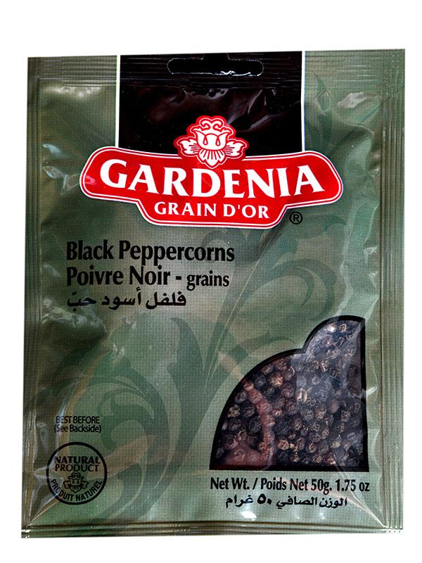 Image for product: gardenia black peppercorn grains
