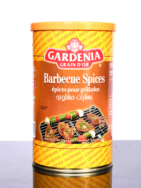 Image for product: gardenia barbecue spice .