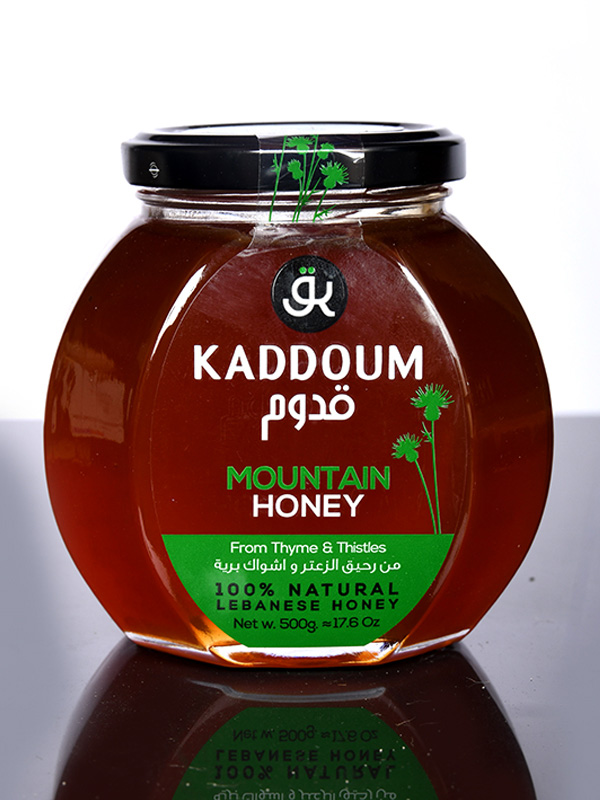 Image for product: kaddoum mountain honey from thyme and thristles