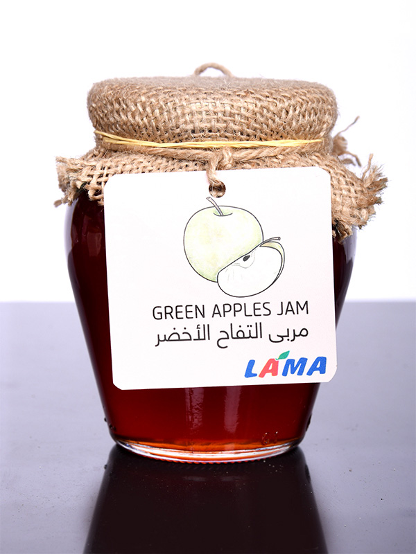 Image for product: lama green jam apple