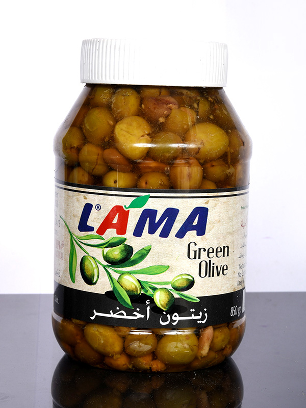 Image for product: lama green olives .