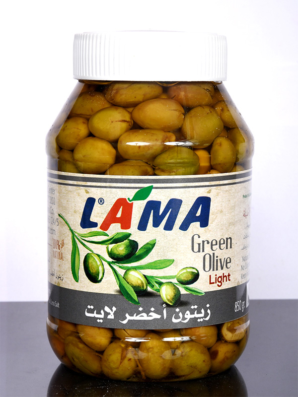 Image for product: lama green olives ligth