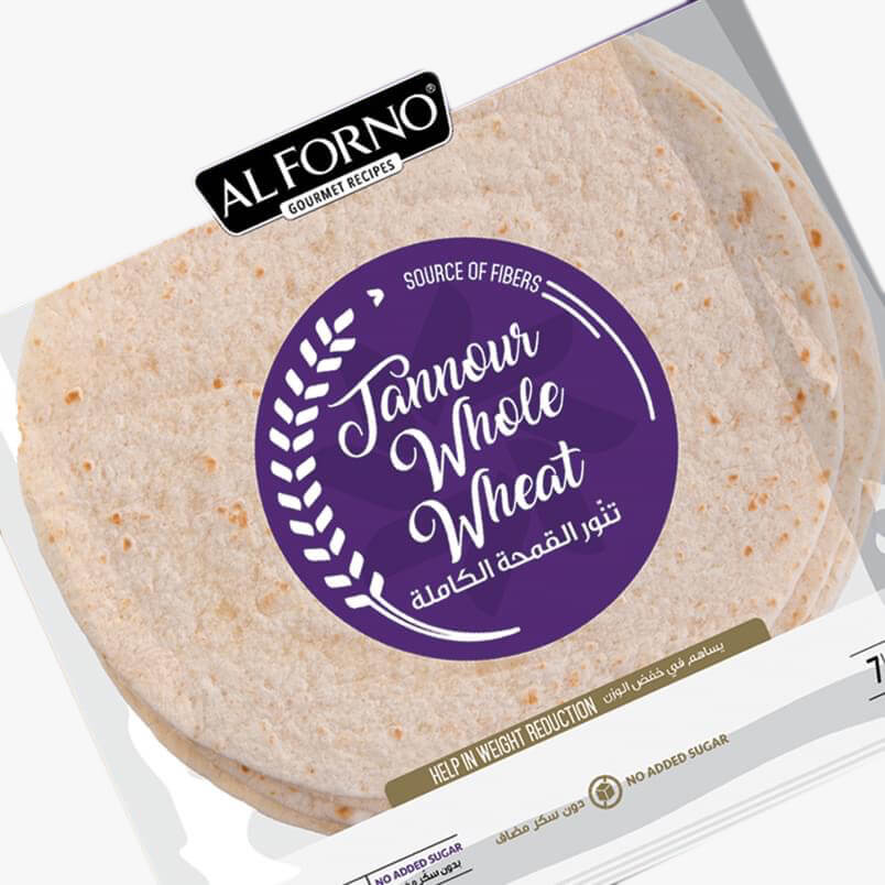 Image for product: alforno tanour whole wheat bread