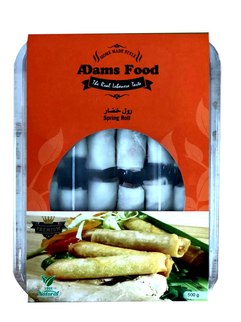 Image for product: adams food spring roll