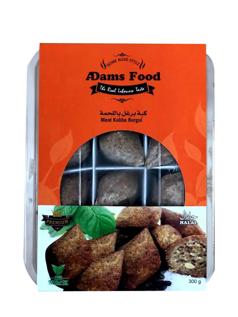 Image for product: adams food meat kebbeh burgol