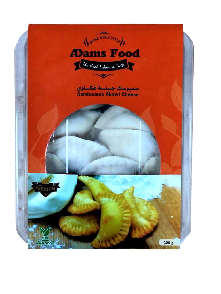 Image for product: adams food  cheese samosa  akkawi