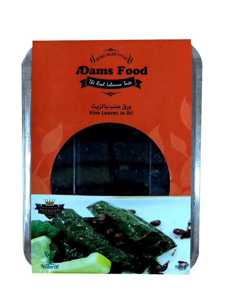Image for product: adams food vine leaves in oil